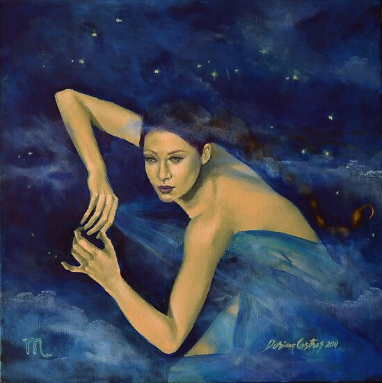 """Scorpio"" - ...from ""Zodiac signs"" series by dorina costras"