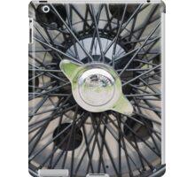 Alfa Romeo Spoked Wheel 2 iPad Case/Skin