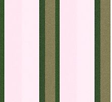 Pink Roses in Anzures 2 Stripes 3V by Christopher Johnson