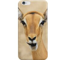 Impala Fun - Wildlife Humor from Africa.  iPhone Case/Skin