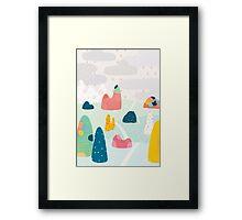 Rocky Road Framed Print