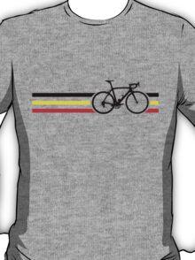 Bike Stripes Belgian National Road Race v2 T-Shirt
