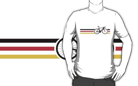 Bike Stripes German National Road Race v2 by sher00