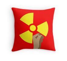 Power of the Atom Throw Pillow