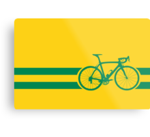 Bike Stripes Australian National Road Race Metal Print