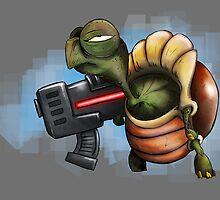 War Turtle by Hellnem