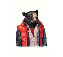 Bear to the Future Art Print