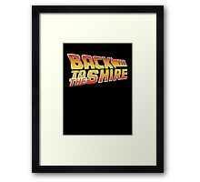 Back To The Shire Framed Print