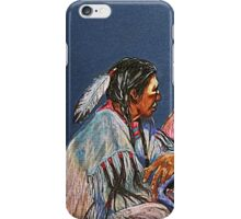 Pondering The Way iPhone Case/Skin