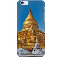 GOLDEN SHWEZIGON PAGODA iPhone Case/Skin