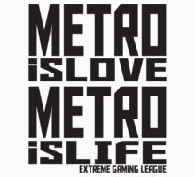 Metro is Love, Metro is Life Kids Clothes