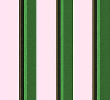 Pink Roses in Anzures 2 Stripes 5V by Christopher Johnson