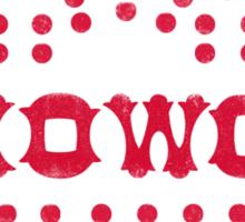 Show & Co Sticker