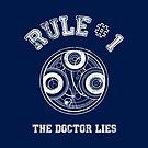 Doctor Who Rule N°1 by ixrid