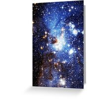 Blue Galaxy 3.0 Greeting Card