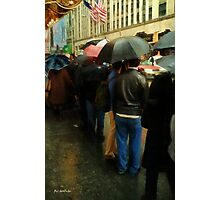 Rainy Afternoon on Broaway Photographic Print