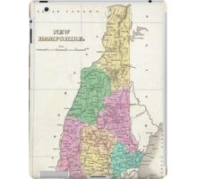 Vintage Map of New Hampshire (1827) iPad Case/Skin