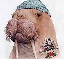 Tattooed Walrus by AnimalCrew