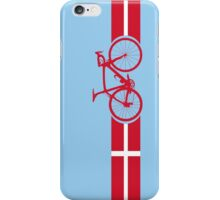 Bike Stripes Danish National Road Race iPhone Case/Skin