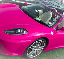 Pink Ferrari by ncp-photography