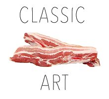 CLASSIC ART BACON !  by beanicon