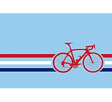 Bike Stripes British National Road Race v2 Photographic Print