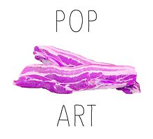 POP ART BACON by beanicon