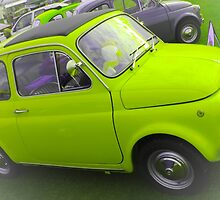 Classic Fiat 500 by ncp-photography