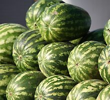 Striped watermelons by mrivserg
