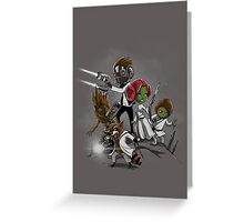 Guardians of the Stars Greeting Card