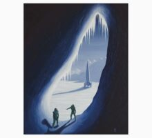 Exploring the ice cave Kids Clothes