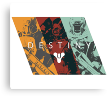 Destiny - Classes by AronGilli Canvas Print
