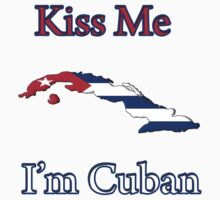 Kiss Me I'm Cuban Kids Clothes