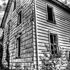 Exterior Abandoned Farmhouse 1 by Roger Passman