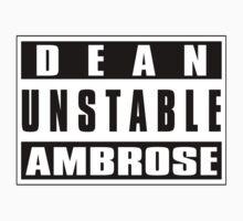 Dean unstable Ambrose by Theblackmamba