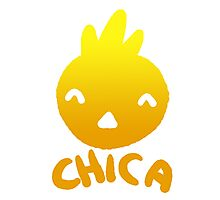 Chica the Chicken Photographic Print