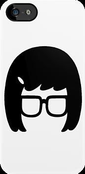 Tina - [Head] Bob's Burgers minimalist design by Hrern1313