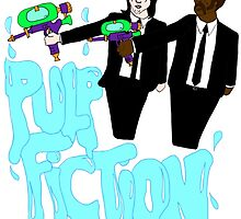 Pulp Fiction - Water Guns by Crystal Friedman