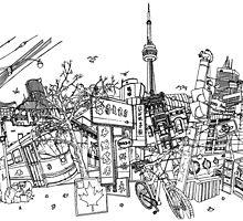 Toronto! by davidbushell