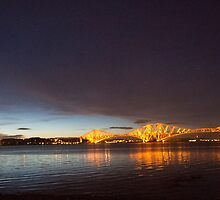 The Forth Bridges - Scotland by YourWorldImages