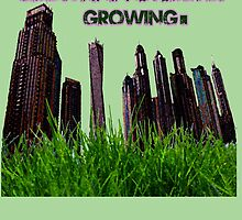 Grow and Never Stop Growing Motivational by dno123