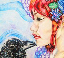 Raven's Kiss by paitucker