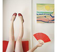 Fan Photographic Print