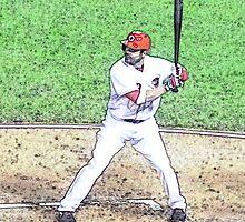 MLB Batting Baseball Player by rpwalriven