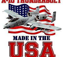 A-10 Thunderbolt Made in the USA by Mil Merchant