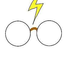 Harry Potter - Minimal by Crystal Friedman