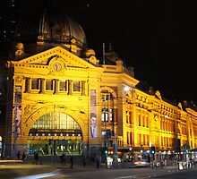 Flinders Street Station by Creativity for S4K