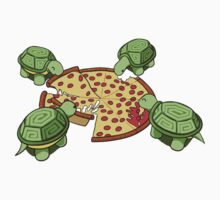 Hungry Hungry Turtles Kids Clothes
