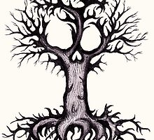 Skull Tree 3 by LVBART