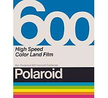 Polaroid Film 600 Photographic Print